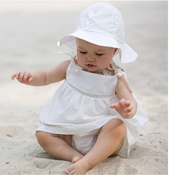 f15ddb71 Under The Nile Accessories | Off White Baby Hat Wide Brim 312 Months ...